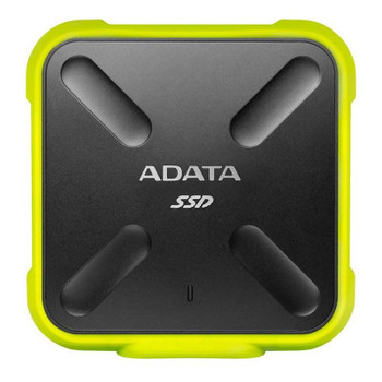 Adata SD700 1TB USB 3.1 Portable External 3D NAND SSD - Yellow Product Image 2
