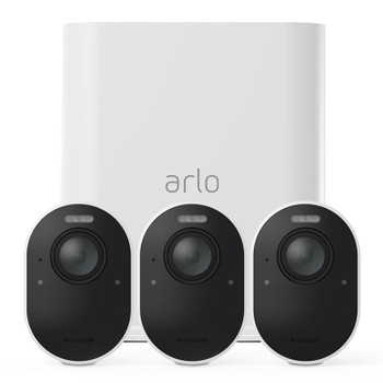 Image for Arlo Ultra 4K UHD Wire-Free Security Camera System - 3 Cameras AusPCMarket