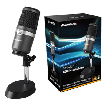 AVerMedia AM310 Uni-directional Condenser USB Microphone Product Image 2