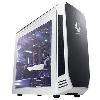 Image for BitFenix Aegis Micro-ATX Case with Display - White AusPCMarket