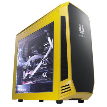 Image for BitFenix Aegis Micro-ATX Case with Display - Yellow AusPCMarket