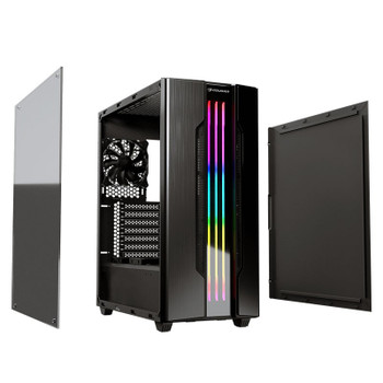 Cougar Gemini S RGB Tempered Glass Mid-Tower ATX Case - Iron Grey Product Image 2