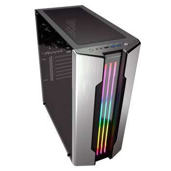 Cougar Gemini S RGB Tempered Glass Mid-Tower ATX Case - Silver Product Image 2