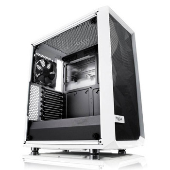 Image for Fractal Design Meshify C Tempered Glass Mid-Tower ATX Case - White AusPCMarket