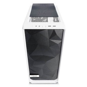 Fractal Design Meshify C Tempered Glass Mid-Tower ATX Case - White Product Image 2