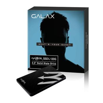 Galax GAMER L 120GB 2.5in SATA III SSD TGAA1D4M4BG49BNSBCYDXN Product Image 2