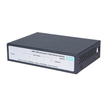 Image for HPE OfficeConnect 1420 Gigabit 5 Port Unmanaged Switch AusPCMarket