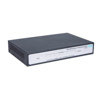 HPE OfficeConnect 1420 Gigabit 8 Port Unmanaged Switch Product Image 2