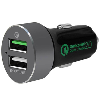 Image for mBeat QuickBoost S Dual Port Smart USB Car Charger AusPCMarket