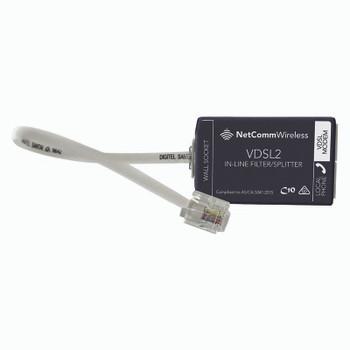 Image for NetComm EM1690B VDSL/ADSL2+ In-Line Splitter/Filter - Australian NBN Certified AusPCMarket