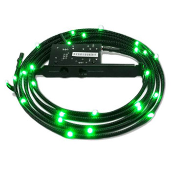 Image for NZXT Sleeved Green LED Kit (CB-LED10-GR) - 1M AusPCMarket
