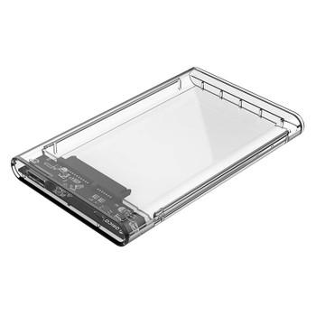 Image for Orico 2.5in Transparent USB3.0 Hard Drive Enclosure - 2139U3 AusPCMarket