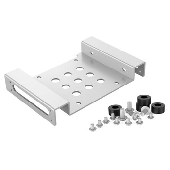 Image for Orico Aluminium 5.25in to 2.5 or 3.5in Hard Drive Caddy - Silver AusPCMarket