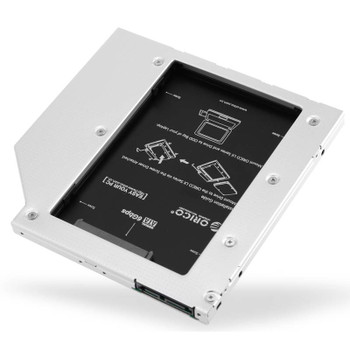 Image for Orico L95SS-V1 Aluminum Internal Hard Drive Caddy for Laptop CD-ROM Drive AusPCMarket