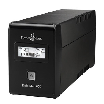 Image for PowerShield Defender Line Interactive UPS 650VA 390W AVR Australian Outlets AusPCMarket