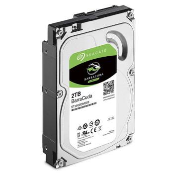 Seagate ST2000DM008 2TB BarraCuda 3.5in 7200RPM SATA3 Desktop Hard Drive Product Image 2