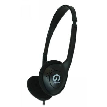 Image for Shintaro SH-101 Light-Weight Headphones - Black AusPCMarket