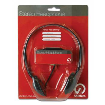 Shintaro SH-101 Light-Weight Headphones - Black Product Image 2