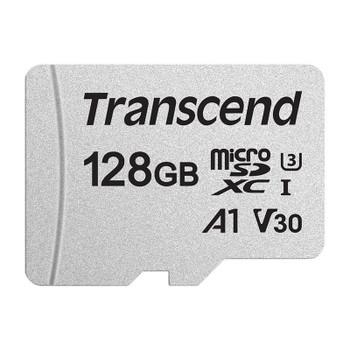 Image for Transcend 300S 128GB UHS-I U3 A1 microSDXC/SDHC Memory Card AusPCMarket