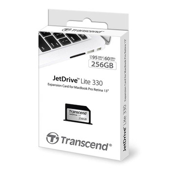 Transcend JetDrive Lite 330 256GB Storage Expansion Card for 13-Inch MacBook Pro Product Image 2
