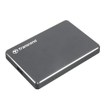 Transcend StoreJet 25C3 2TB USB 3.1 Extra Slim External HDD Product Image 2
