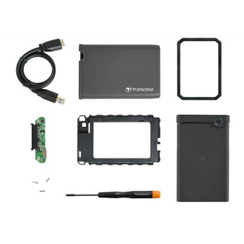 Image for Transcend StoreJet 25CK3 2.5in SSD/HDD Storage Enclosure Upgrade Kit AusPCMarket