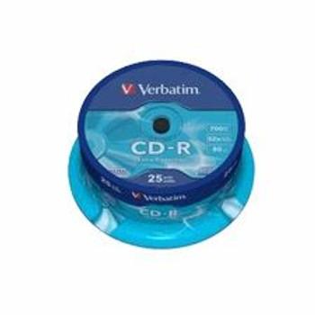 Image for Verbatim 52x 700MB CD-R 25PK Spindle (43432) AusPCMarket