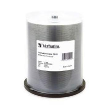 Image for Verbatim CD-R 80 Min 700MB White Wide Thermal Printable AusPCMarket