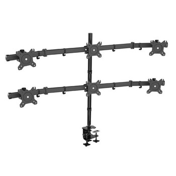 Image for Vision Mounts Adjustable Six LCD Monitor Desk Mount 15in-27in AusPCMarket