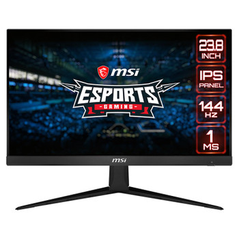 Image for MSI Optix G241 23.8in 144Hz Full HD 1ms FreeSync IPS Gaming Monitor AusPCMarket
