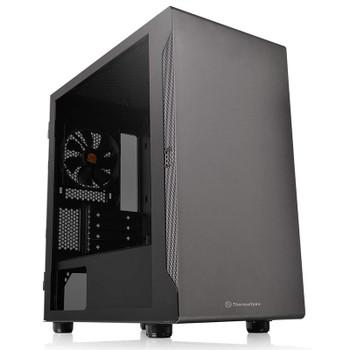 Image for Thermaltake S100 Tempered Glass Micro-ATX Case - Black AusPCMarket