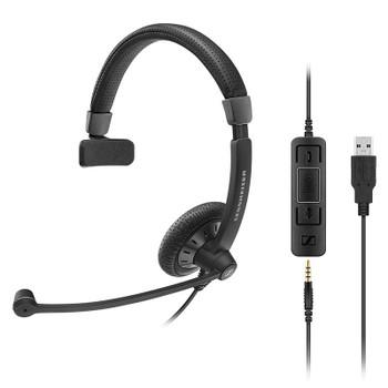 Image for Sennheiser SC 45 CTRL USB Mono Headset AusPCMarket