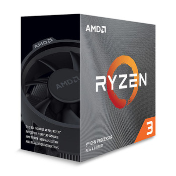 AMD Ryzen 3 3100 4 Core Socket AM4 3.6GHz CPU Processor + Wraith Stealth Cooler Product Image 2