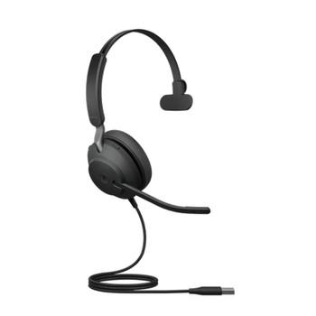 Image for Jabra Evolve2 40 MS Mono USB Headset - Black AusPCMarket