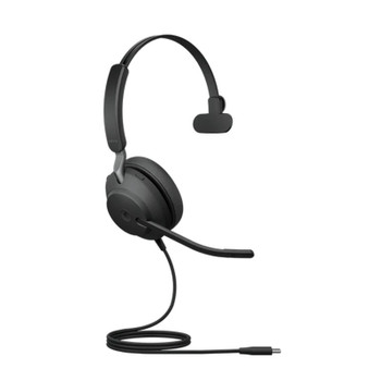 Image for Jabra Evolve2 40 MS Mono USB-C Headset - Black AusPCMarket
