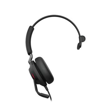 Image for Jabra Evolve2 40 MS USB-A Stereo Headset - Black AusPCMarket