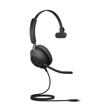 Image for Jabra Evolve2 40 UC Mono USB-C Headset - Black AusPCMarket