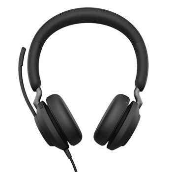 Jabra Evolve2 40 UC USB-A Stereo Headset - Black Product Image 2