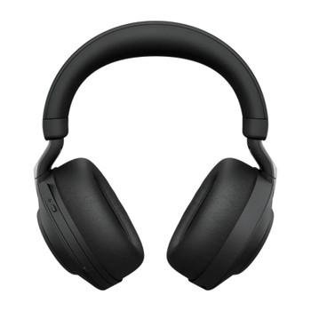 Jabra Evolve2 85 UC USB-A Stereo Bluetooth Headset w/ Charging Deskstand - Black Product Image 2