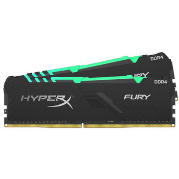 Kingston HyperX FURY RGB 16GB (2x 8GB) DDR4 3600MHz Memory Product Image 2