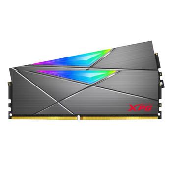 Image for Adata XPG Spectrix D50 32GB (2x 16GB) DDR4 3600MHz RGB Memory - Tungsten Grey AusPCMarket