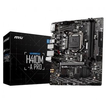 Image for MSI H410M-A PRO LGA 1200 Micro-ATX Motherboard AusPCMarket