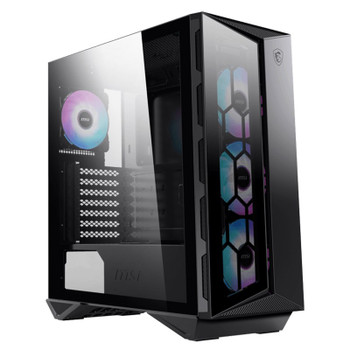 Image for MSI GUNGNIR 110R RGB Tempered Glass Mid-Tower ATX Case AusPCMarket