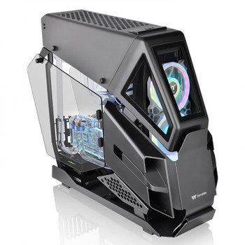 Image for Thermaltake AH T600 Tempered Glass Full Tower Chassis E-ATX - Black AusPCMarket