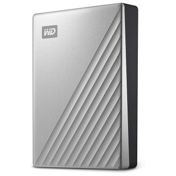 Image for Western Digital WD My Passport Ultra 4TB USB 3.0 Portable Storage - Silver AusPCMarket