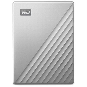 Western Digital WD My Passport Ultra 4TB USB 3.0 Portable Storage - Silver Product Image 2