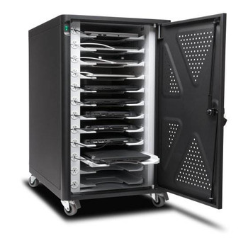 Kensington AC12 12 Bay Charging Cabinet for Chromebooks & Tablets Product Image 2