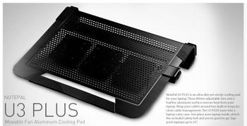Cooler Master NotePal U3 Plus 19in Notebook Cooler Product Image 2
