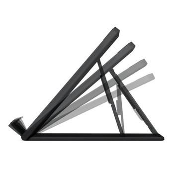 Kensington SmartFit Easy Riser Go Adjustable Cooling Stand – Black Product Image 2