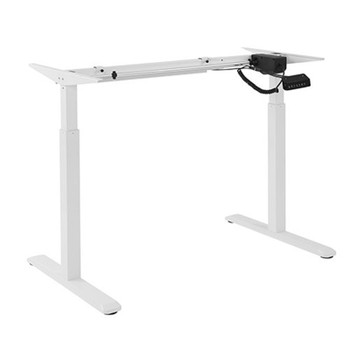 Image for Brateck 2-Stage Motor Electric Sit-Stand Desk Frame with Control Panel - White AusPCMarket